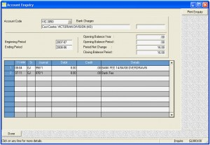 General ledger software